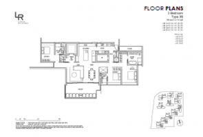 Type 3B Floor Plan